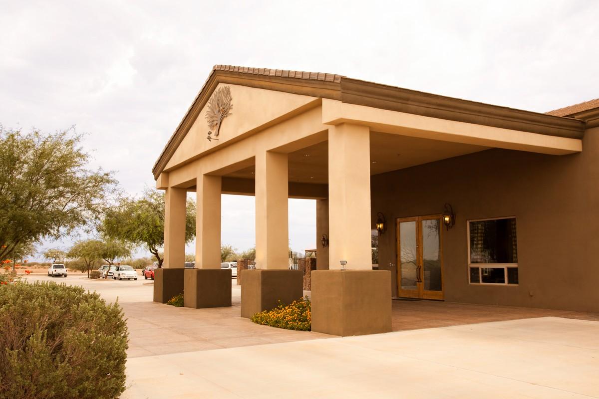 Mesquite Grove Outside Entrance