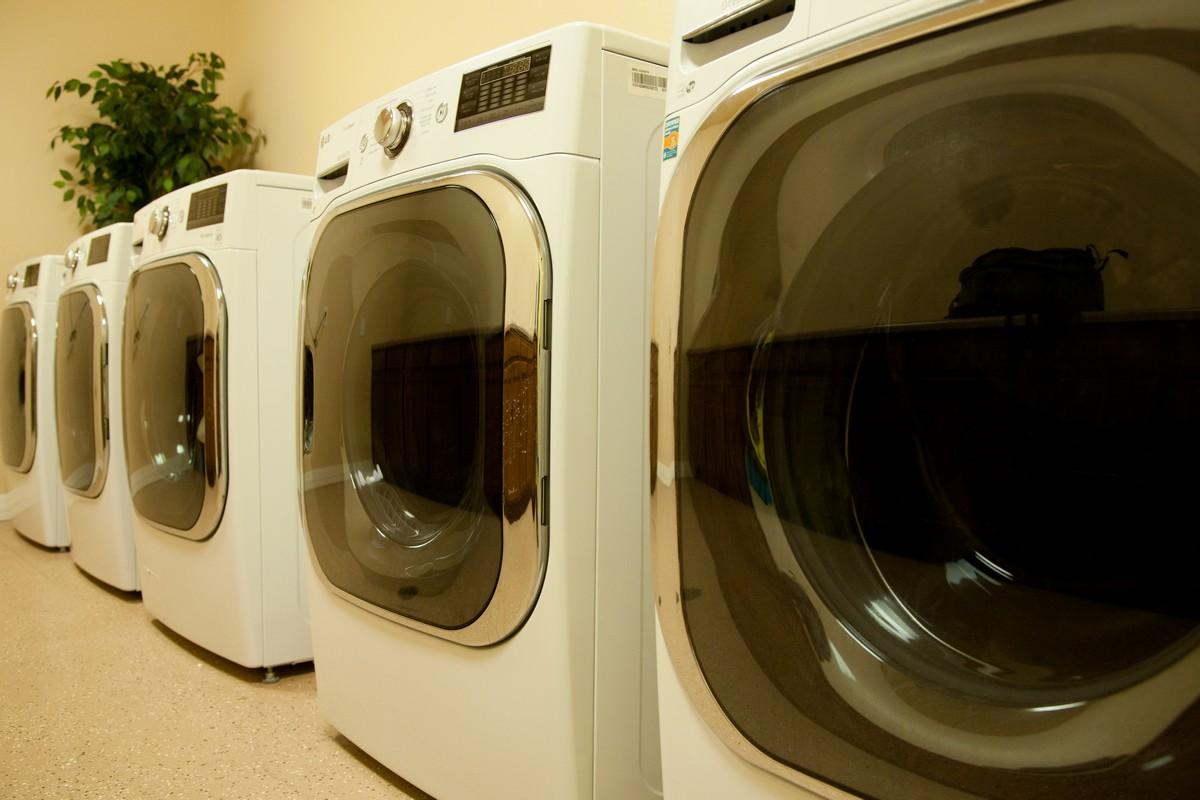 Resident Laundry Room