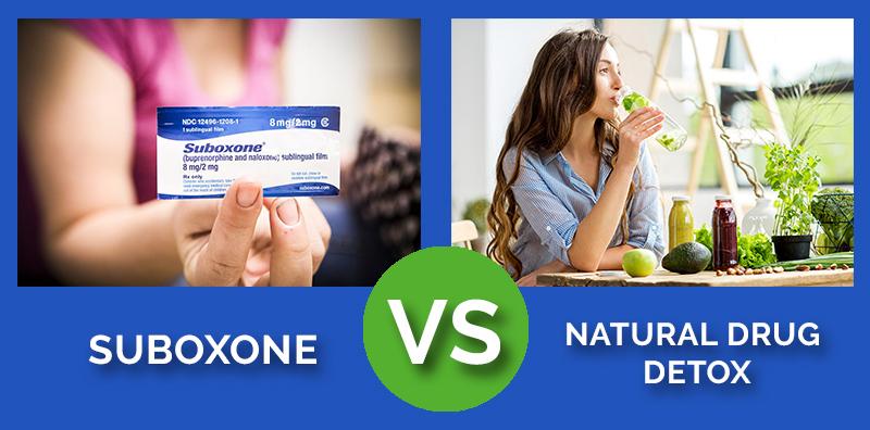 Suboxone vs Natural Drugs
