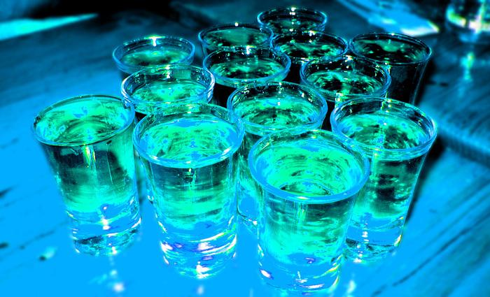 Drink in Blue