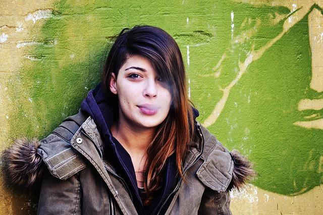 Girl Smoking Meth