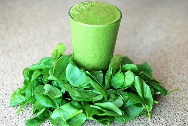 Green leafy smoothie