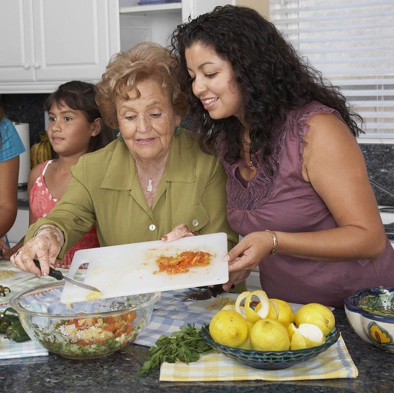 Family Bonding in Cooking
